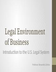 Chapter 1 - Intro to Law
