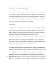 Leadership and Artificial Intelligence.docx