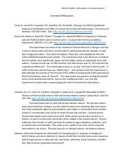 Annotated bibliography (3)