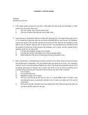 Tutorial questions on cost of capital.doc