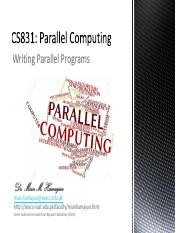 04_1_Writing_Parallel_Programs