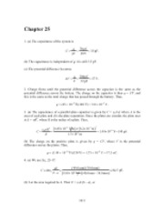 PHY2049 Chapter 25 Solutions
