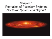 Chapter 6(Formation of Solar System)