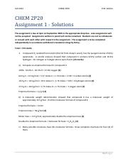 CHEM+2P20+Assignment+1+Solutions+-+Fall+2012.pdf
