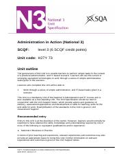 CfE_Unit_N3_AdministrationandIT_AdministrationinAction