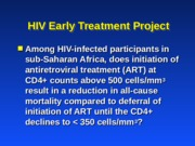 HIVProjectOverview.ppt