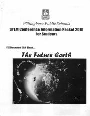 Isamar Mendoza-Maldanado - STEM Conference Information Packet 2019.pdf