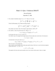 MATH111-200630-QZ01-Solutions