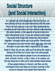 Lecture #4 Social Interaction.ppt
