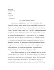 Argumentative essay on autism