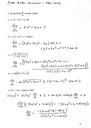 Solutions to Final Exam Ma12, F05
