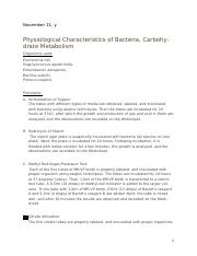 physiological characteristics carbohydrate metabolism.docx