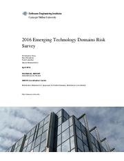 2016 Emerging Technology Domains Risk Survey.pdf
