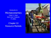 Micro_4e_Ch13_Resource_Markets