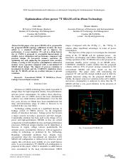 Optimization of low power 7T SRAM cell in 45nm Technology.pdf