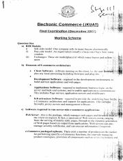 Electronic Commerce (2)