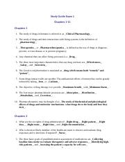 Study Guide 1-11.doc