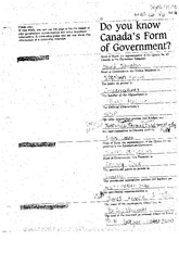 Lecture Material Form of Government