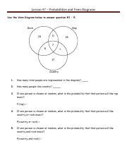 10-17 More Venn Diagrams