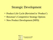 f.Strategic development 6