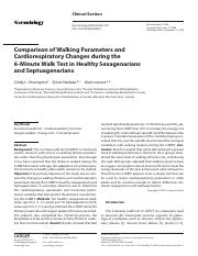 Comparison of Walking Parameters and.pdf
