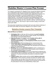 madeline hunter's lesson plan format.pdf