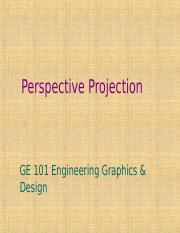 L5- Perspective projections.ppt