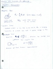 Leture Notes - Magnetic Induction