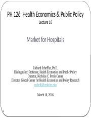 16. Market for Hospitals 03.10.16.pptx
