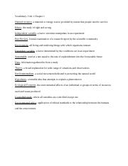 science vocabulary unit 1 chapter 1.docx