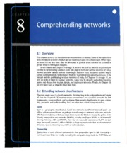 Principles of Computer Networks and Communications-Dummas- Chp 8