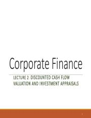 Lecture 2 - Chap 0405 - Discounted Cash Flow Valuation and Investment Appraisals-stu.pdf