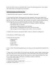 2 - marketing strategies - review questions.docx