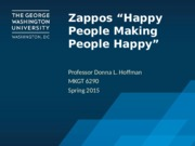 POST Class 12b.1 Online Media - Zappos Happy People Example(1)