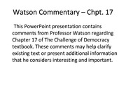Watson_Chpt17_comments