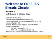 ENEE205 Fall2013 Lecture7 Gomez