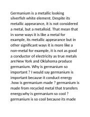germanium advertisement.docx