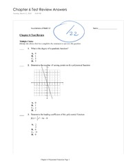 Math 12 Review