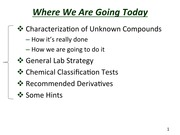 Slides for Qualitative Organic Analysis(2)