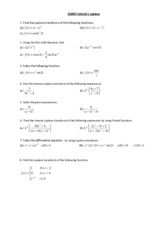 EE203 Tutorial 3 Laplace(2)