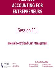 [Session 11] Managerial Planning and Control_Part A (1)