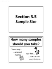 3.5 - Sample Size (Solutions)