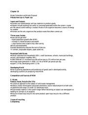 ap environmental science essay rubric