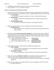 Unit 2 exam study guide