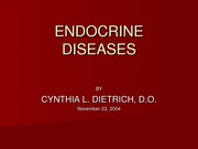 endocrineDiseases