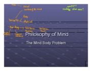Philosophy of Mind Notes