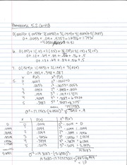 Homework on Random Variables 2