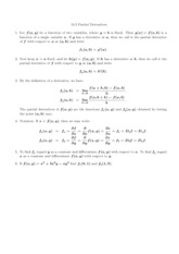 Calculus III Lecture 13