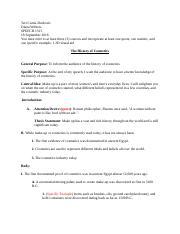 Informative Sch Outline Teri