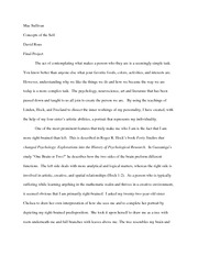 concepts of the self portrait essay maesullivan concepts of the self portrait essay maesullivan conceptsoftheself davidrous finalproject colors activities andinterestsare however